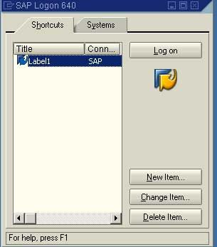 SAP Logon