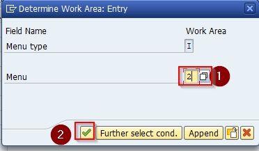 Determine Work Area: Entry