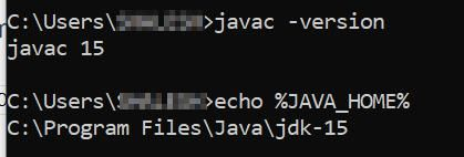 Set JAVA_HOME variable in Windows