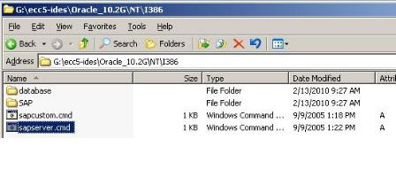 Oracle 10.2 Installation on Windows Server