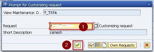 Customizing Request