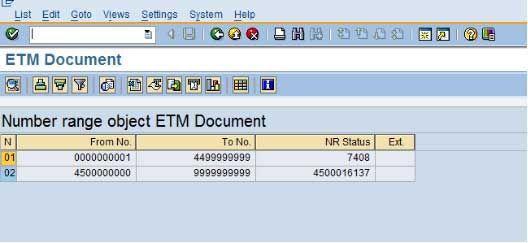 ETM Document