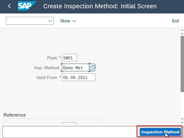 Inspection Method