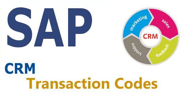 SAP CRM TCodes
