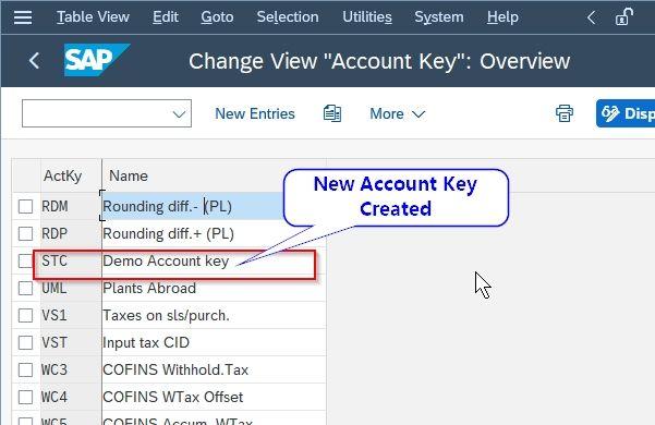 Demo Account Key
