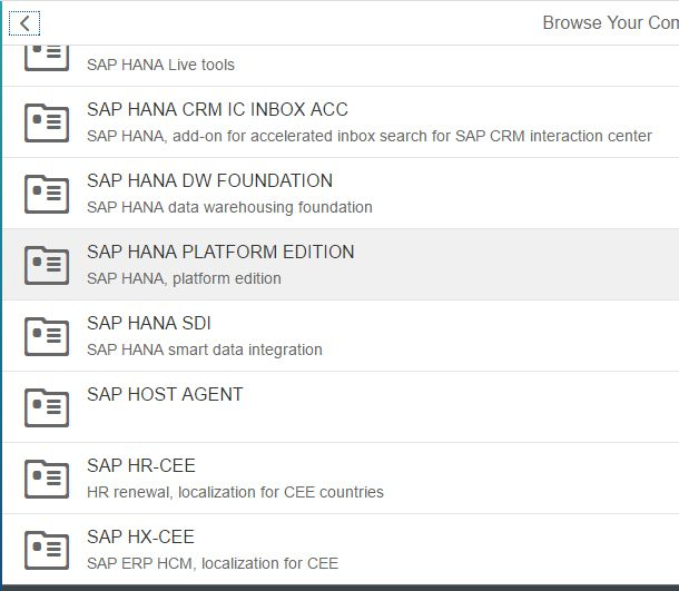 SAP HANA PLATFORM EDITION