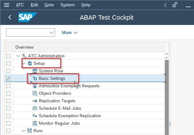ABAP Test Cockpit