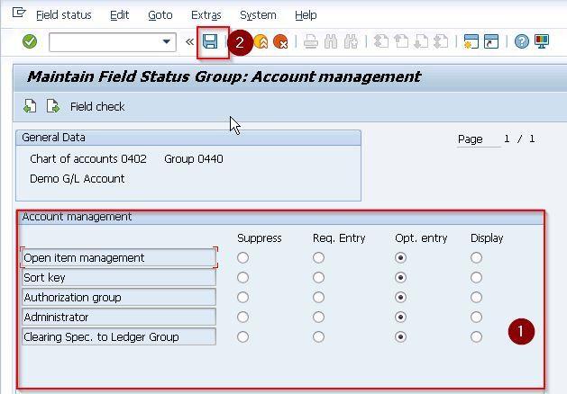Account Control Tab