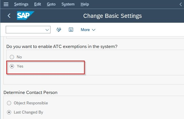 AtC Exemption