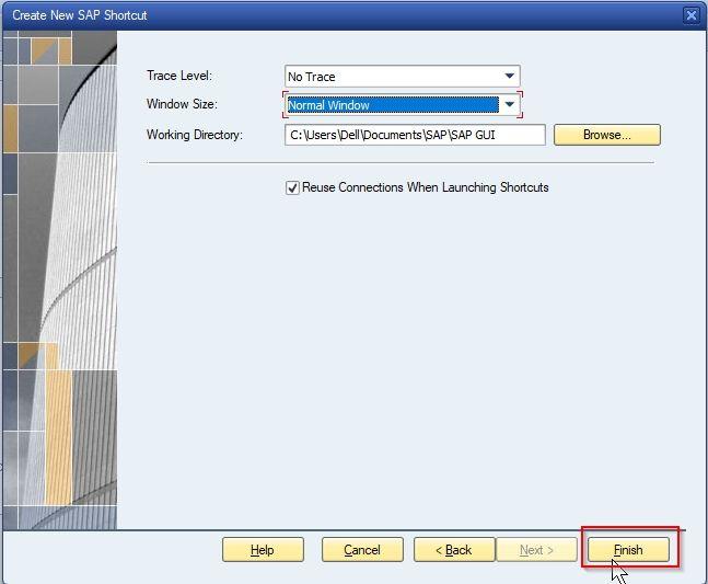 SAP Shortcut