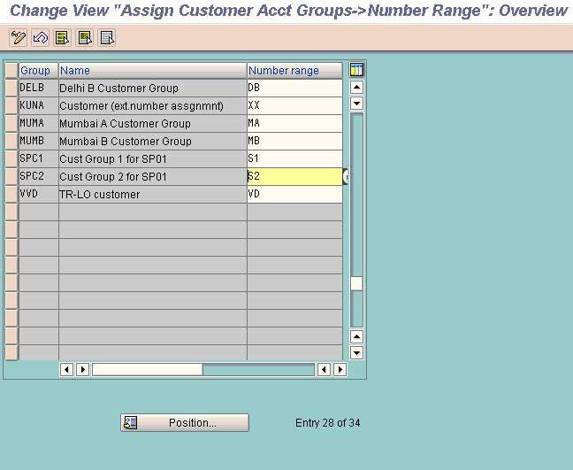 Assign Number Range