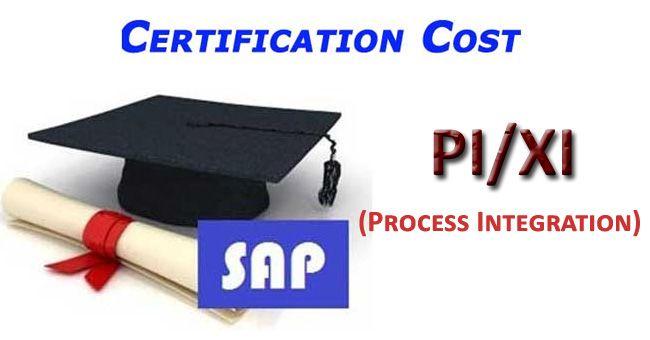 SAP PI Certification Cost