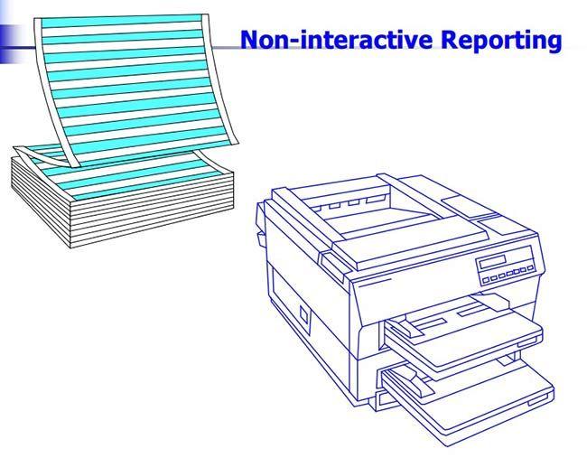 Non-interactive-Reporting