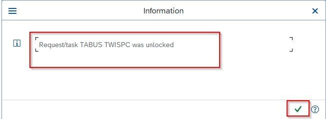 Request task Unlocked