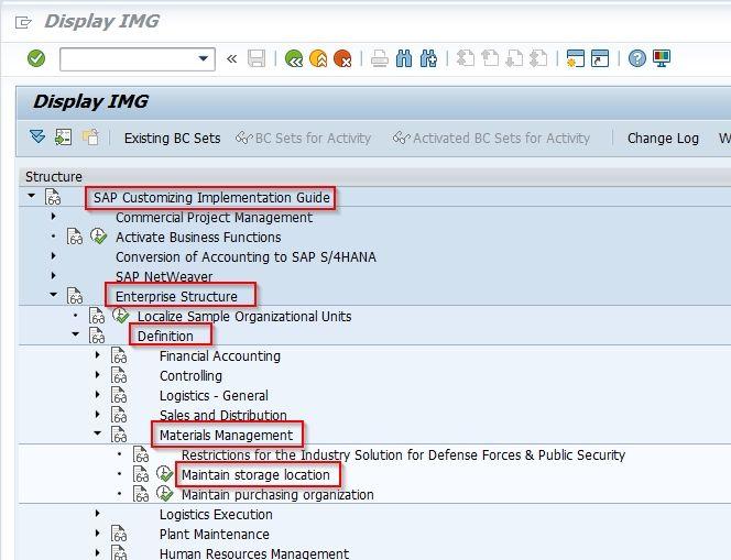 SAP Customizing