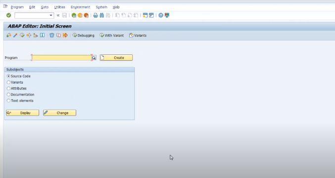 SAP-ABAP-Editor