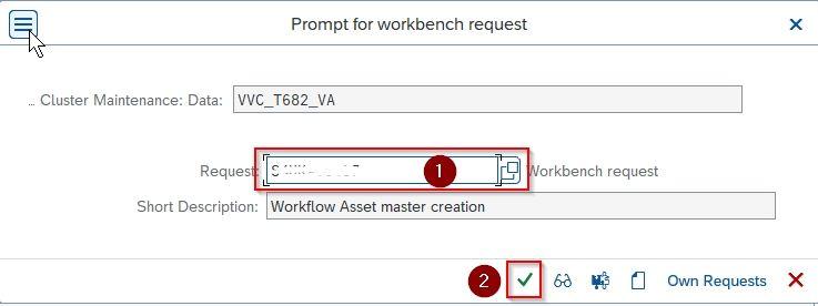 Customization request