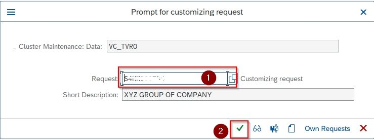 Customization id