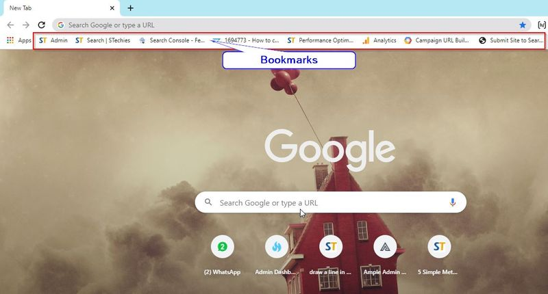 Deleting Bookmark in Chrome