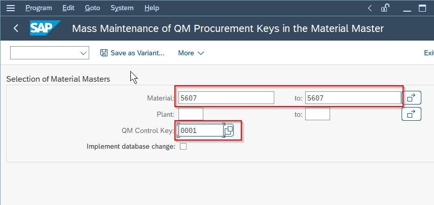 QM Control key