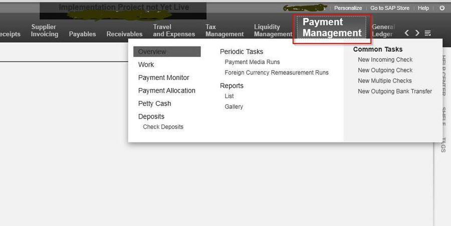 Make Cash Transaction