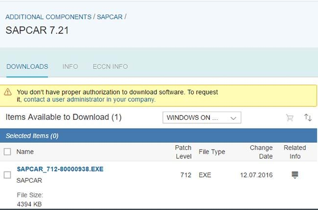 SAPCAR Download