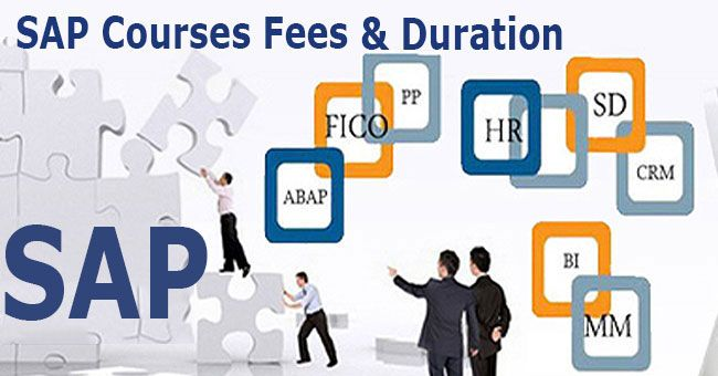 SAP Course Fees