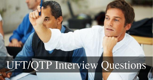 UFT QTP Interview Questions