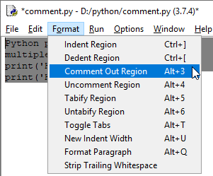 Comments in Python-2